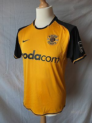 Used in Ex Con - Genuine Kaizer Chiefs 2008/09 Home Shirt  - Mens Small - Rare