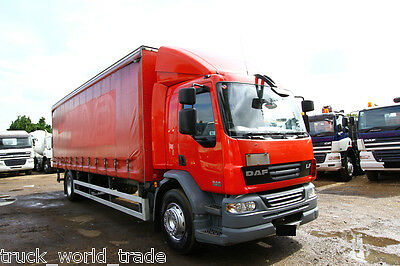 2010 Daf Lf 55.220 4X2 Curtain Sider With Big Tail Lift Scania Volvo Curtain