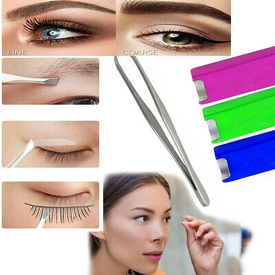 Professional Eyebrow Tweezer Hair  Stainless Steel