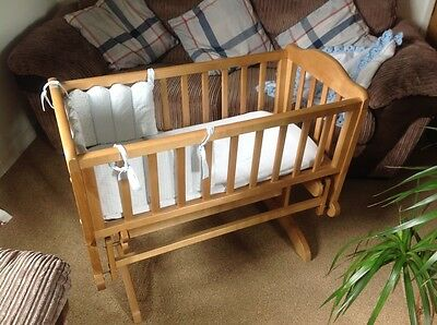 Gliding baby crib cost over £120 Great condition