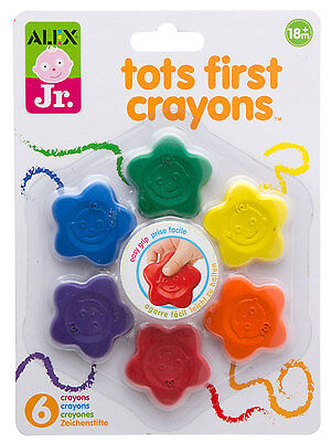 Alex Toys Tots First Crayons Star Shape - NEW