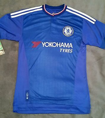 Chelsea Adult Blue Soccer Jersey Top New Tshirt