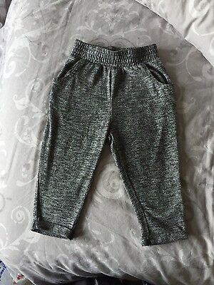 NEXT hareem trousers bottoms grey, age 12-18 months