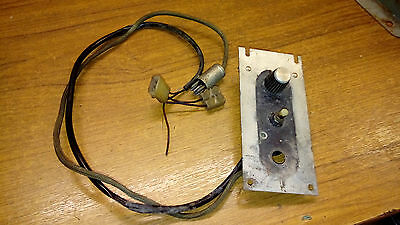 Rockola 403 430 Volume Control Complete Untested Will Fit Others