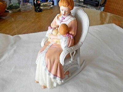 Lenox Evening Lullaby Mother and Child Figurine 1991 Porcelain Sculpture