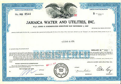 Jamaica Water & Ulities, Inc. 1972