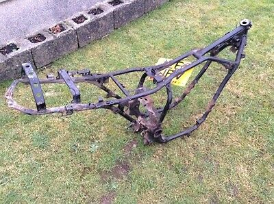 Yamaha XJ600 F XJ600 Frame + V5. Breaking Bike