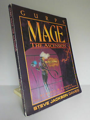 Mage The Ascension - Gurps - Steve Jackson Games (ID:629)