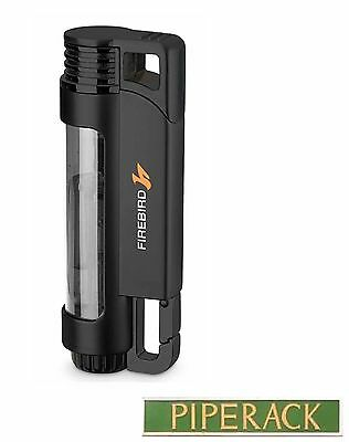 Colibri Firebird Illume Black Triple Jet Flame Lighter Windproof Cigar