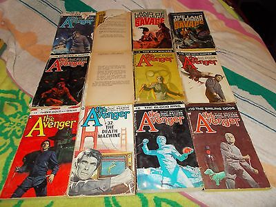 Kenneth Robeson~Doc Savage~Vintage 42 Book Collection~The Avenger~Reader's Lot
