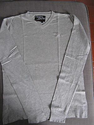 Pull gris Teddy Smith - taille S - TTBE
