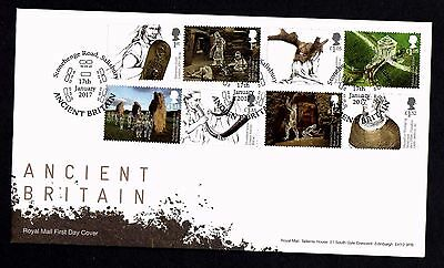 GB 2017 Royal Mail Ancient Britain First Day Cover Unaddressed