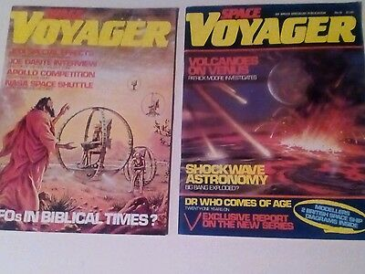 SPACE VOYAGER x 2 ISSUES LOT