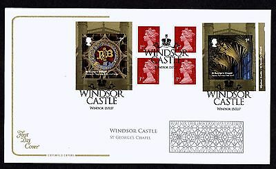 GB 2017 Cotswold Windsor Castle Retail Book  FDC Unaddressed