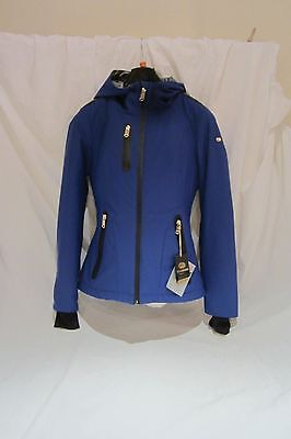 New Goldbergh Ladies Ski Jacket In Blue Size 10 Rrp £430 For £175