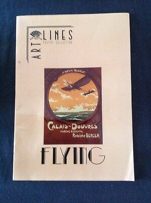 Art Line Retro Poster Collection Flying