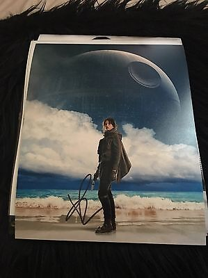 Felicity Jones Signed 8x10  Photo Rogue One A STAR WARS Story