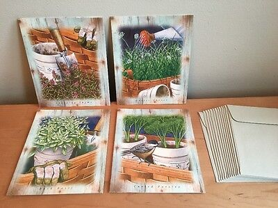 Longaberger Greenhouse Series - Note Cards (Mix A)
