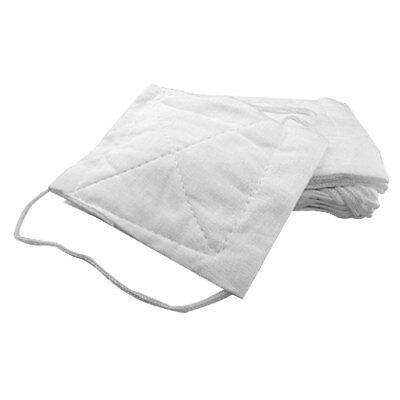 Soft Comfy  Respirator Dust Face Mask White