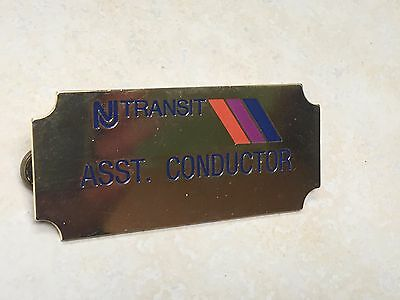 New Jersey Transit Assistant Conductor Badge