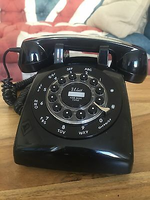 Retro phone Wild and Wolf Dreyfuss 500 Classic Single Line Corded Phone