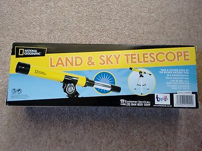National Geographic Land And Sky Telescope With Tripod