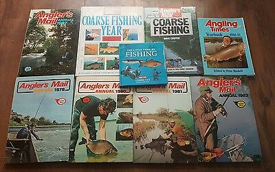 Joblot Of Vintage Angler's Mail Fishing Books/Annuals