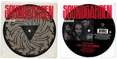 """SOUNDGARDEN : Outshined - 7"""" picture disc UK 1992 - grunge"""