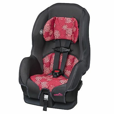 Evenflo Tribute LX Convertible Car Seat - Pink Mums