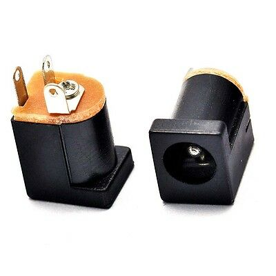10x DC-012 Power Supply Jack Female Outlet Charger 5.5mm-2.1mm 180° feet