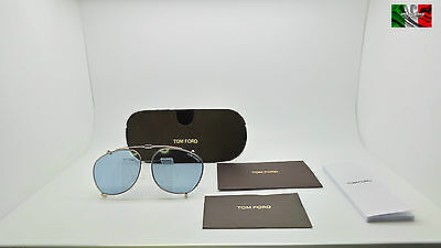 TOM FORD TF5401 CLIP ON color 28V cal 52 clip on unisex TOP ICON OTT16