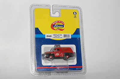 Athearn Diecast 1955 Ford F-100 Panel Truck Tri State Volunteer Fire Dept #26485
