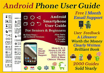 Android User Guide Manual For Smart phone  - All Android Versions