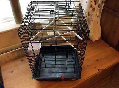 Large bird cage for canaries, budgies or finches.