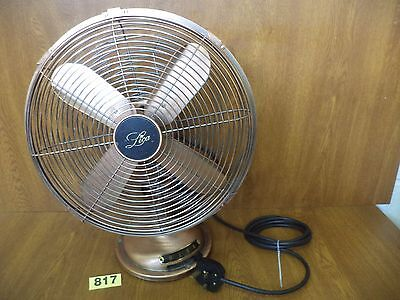Vintage Oscillating 3 Speed Copper Bodied Fan - Pat Tested