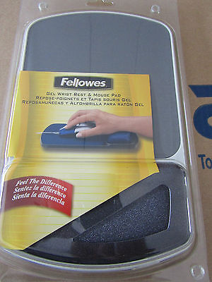 NEW in PACK Fellowes Grey ABS Mouse Pad & Wrist Rest, 91741 - 3002499755 P2