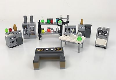 Lego Laboratory Scientist Student Prof Chemist Ideal For MOC Builders