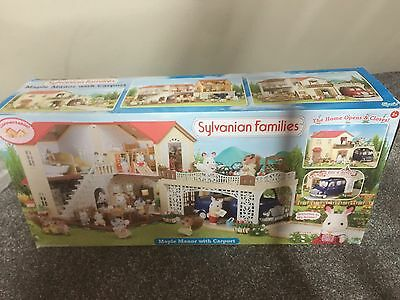 Sylvanian Families House Maple Manor With Carport