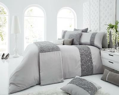 Duvet Cover Set With Pillow Case Bed Quilt Cover Set Single Double King Luxury