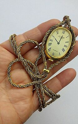 VTG Necklace Watch Le Paix Swiss Perfect Timekeeper Very Elegant!
