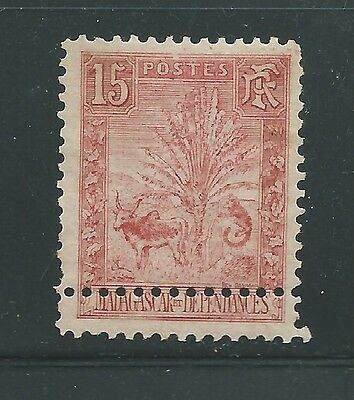 France Madagascar Early Error With Missplaced Perf Mh Nice!