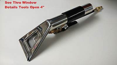 "Detail Upholstery Tool Thru Window Open Wand 4""wide detailing carpet clean USA"