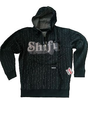 Shift Racing Smooth Hoody Black Xl Fox Troylee Answer Shoei 45602-001 Mx Cross