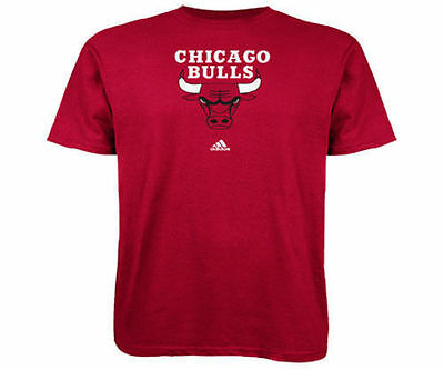 Chicago Bulls Adidas Primary Logo T-Shirt in Large