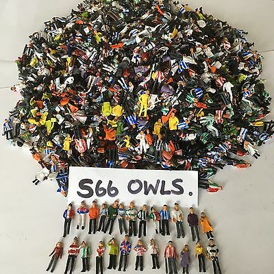 110 New Painted Model Football Fans For Subbuteo/zeugo/model Railway*