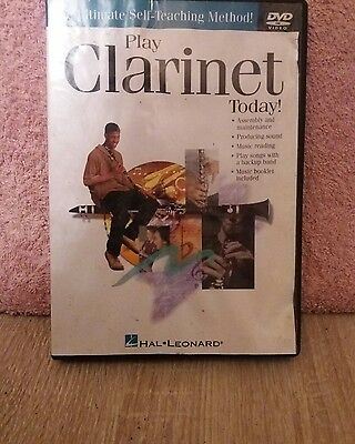 DVD/Video- PLAY CLARINET today.