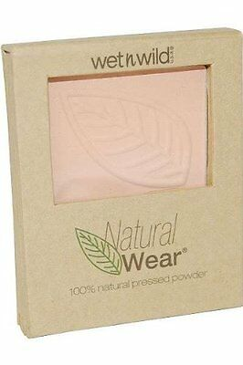 Wet 'n' Wild Natural Wear Pressed Powder With Puff & Mirror - Ivory 28