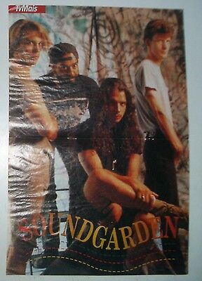 Vintage Soundgarden Poster, early 90's Portugal