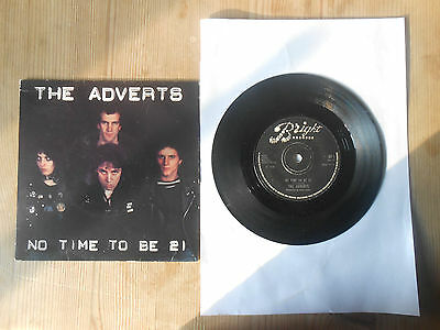 THE ADVERTS      7inch VINYL