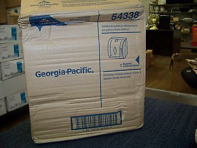 Georgia-Pacific Push Paddle Roll Towels Dispenser #54338 *New